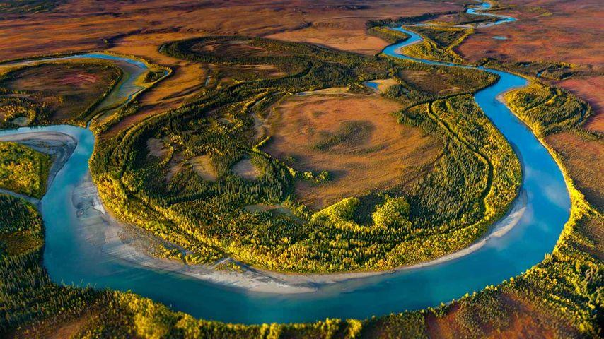 「北極圏の扉国立公園」アメリカ, アラスカ