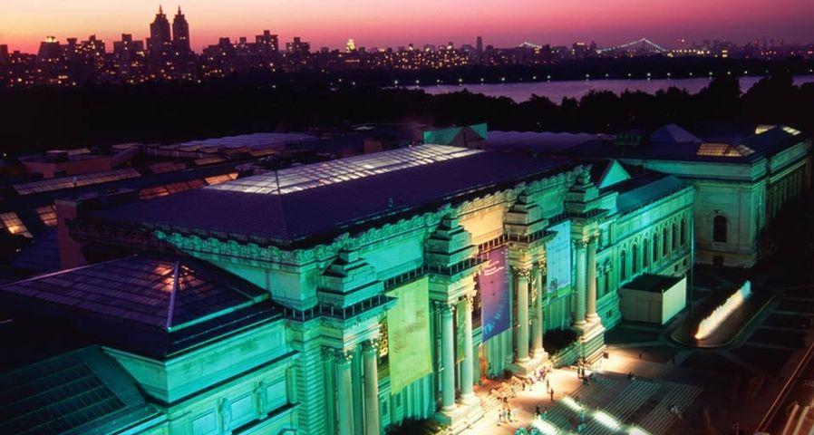 「メトロポリタン美術館」アメリカ, ニューヨーク
