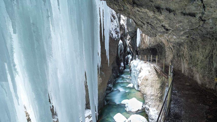 「パルトナック峡谷」ドイツ, バイエルン州