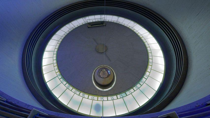 「フーコーの振り子」アメリカ, グリフィス天文台
