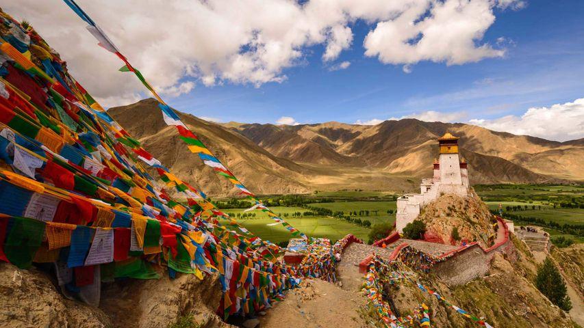 「ユムブラカン宮殿」中国, チベット自治区