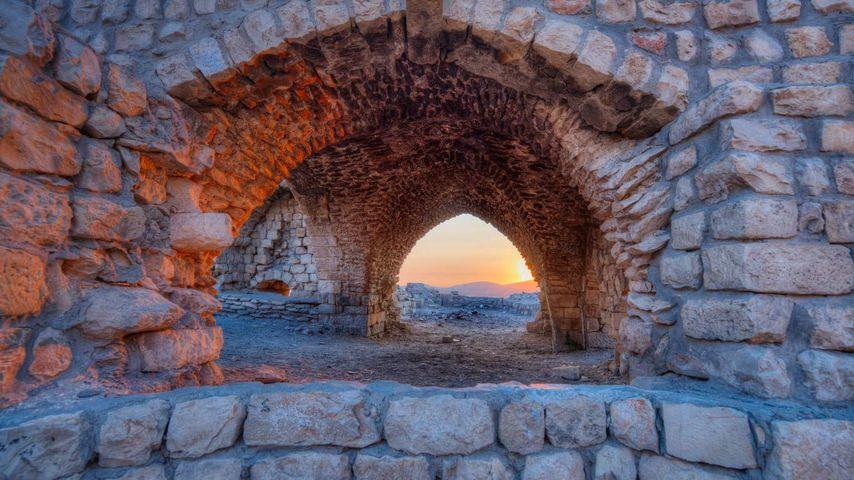 「ツファットの廃墟」イスラエル