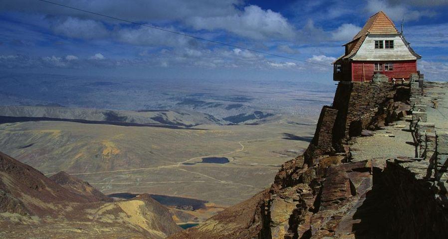 「レアル山脈の古い山小屋」ボリビア, アンデス山脈