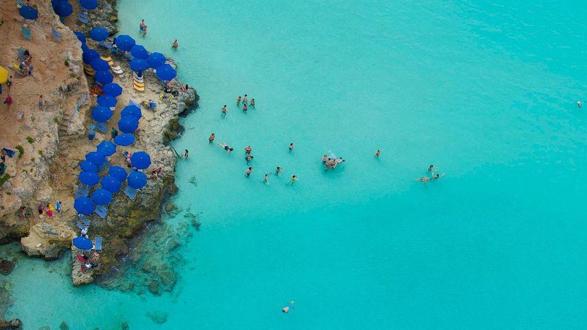 「コミノ島のブルー・ラグーン」マルタ共和国