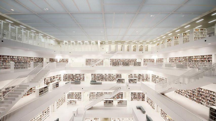 「シュトゥットガルト市立図書館」ドイツ, シュトゥットガルト