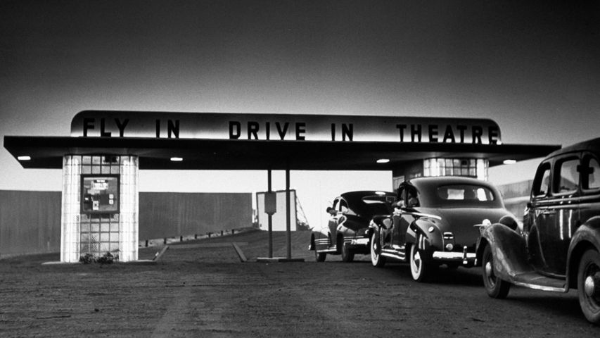 「ドライブインシアター」米国ニュージャージー州, ウォールタウンシップ