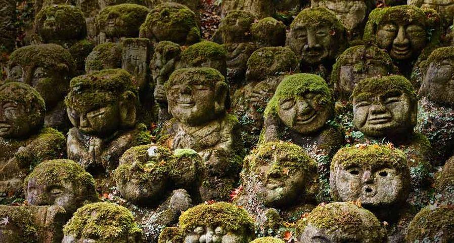 「千二百羅漢」京都, 嵯峨野, 愛宕念仏寺