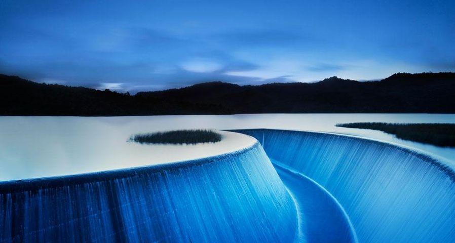「ローワー・ニホトゥプ貯水池」ニュージーランド, オークランド