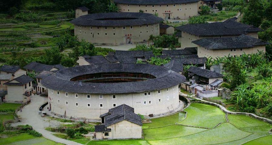 「福建土楼」中国, 福建省