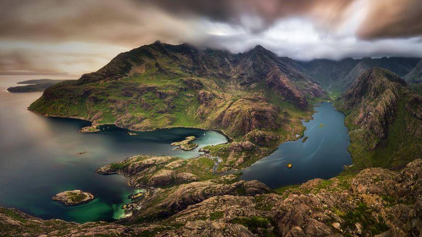 「スカイ島のブラック・クーリン」イギリス, スコットランド