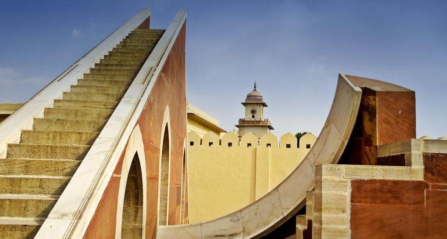 「ジャンタル・マンタル天文所 」インド, ラジャスタン, ジャイプル