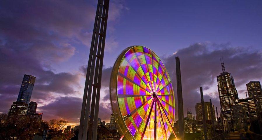 「ビララング・マールの観覧車」オーストラリア, メルボルン