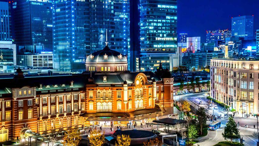 「東京駅丸の内駅舎」東京, 千代田区