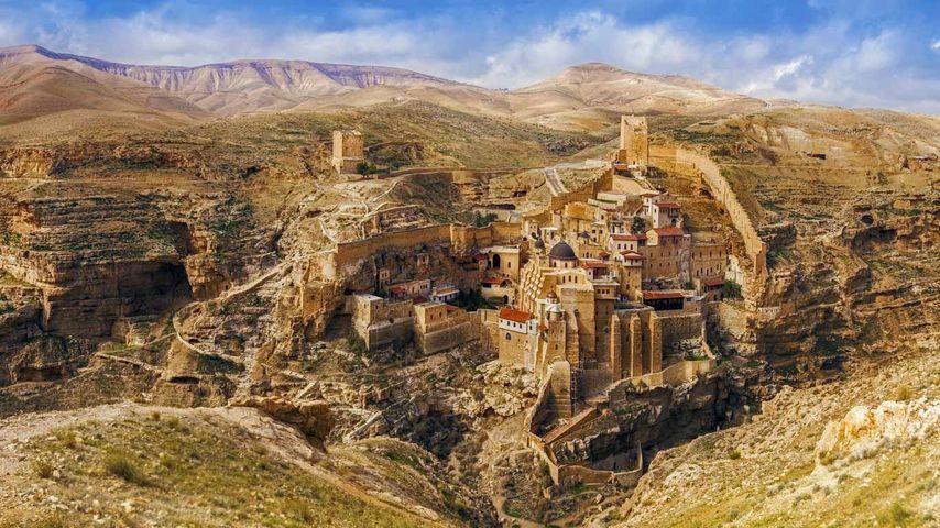 「マー・サバ修道院」ヨルダン川西岸地区