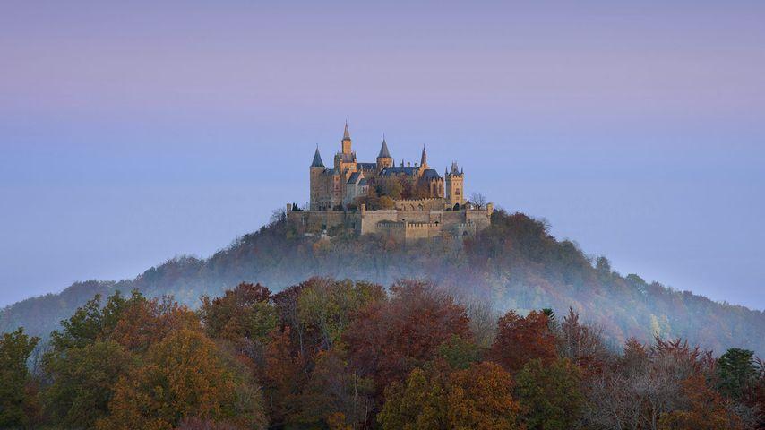 「ホーエンツォレルン城」ドイツ, バーデン=ヴュルテンベルク州