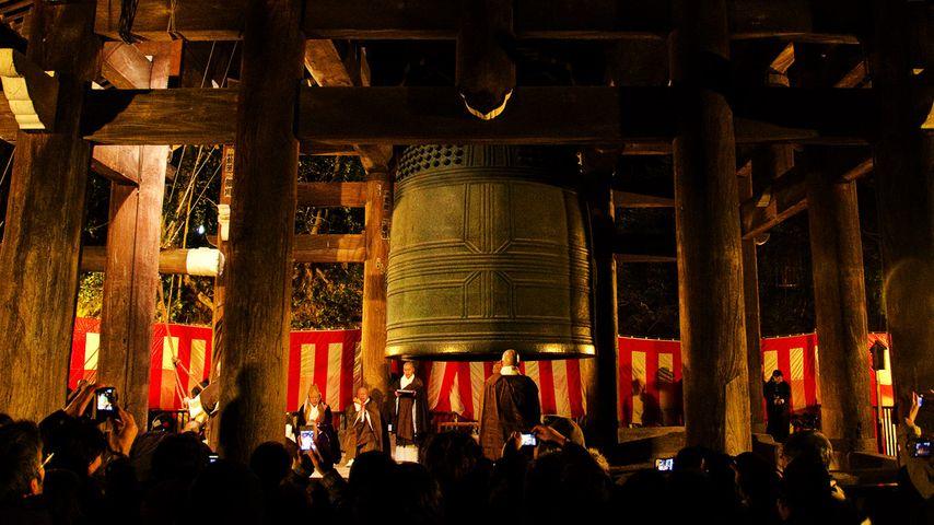 「除夜の鐘」京都, 知恩院
