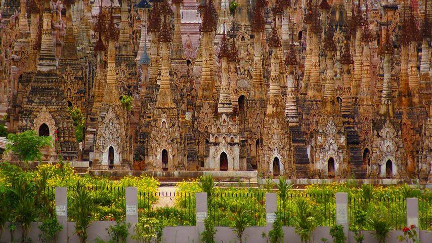 「カッグ遺跡」ミャンマー, シャン州