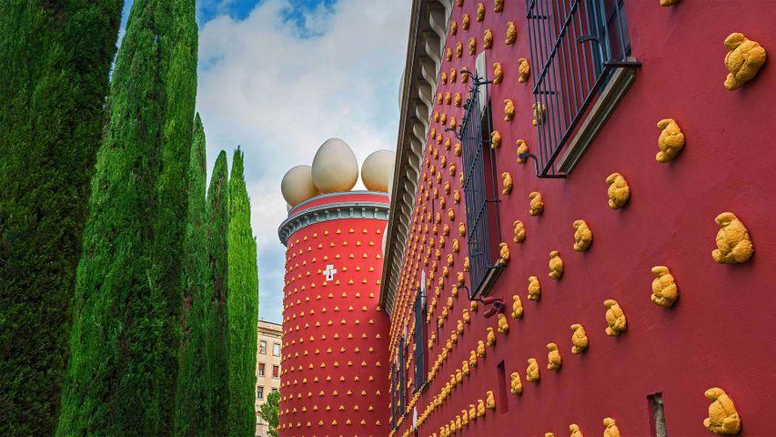 「ダリ劇場美術館」スペイン, フィゲラス