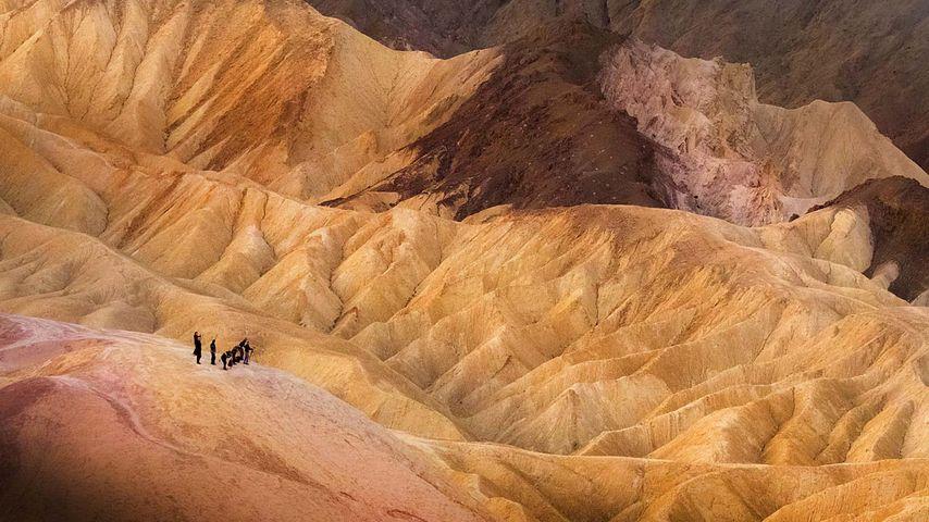 「デスヴァレー国立公園」アメリカ, カリフォルニア州