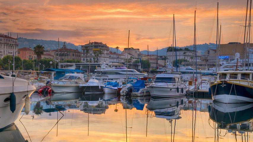 「カンヌ旧港」フランス, カンヌ