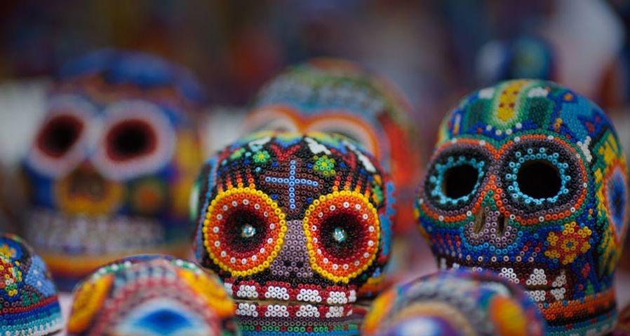 「死者の日のスカル」メキシコ