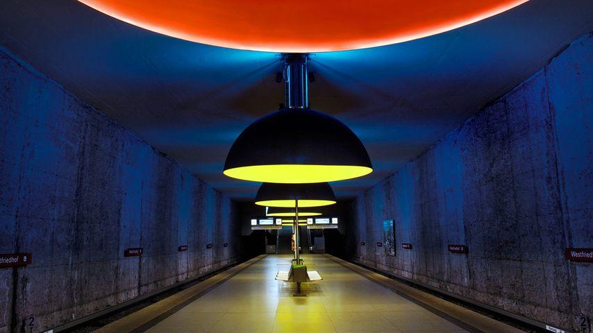 「ウェストフライドホフ駅」ドイツ, ミュンヘン