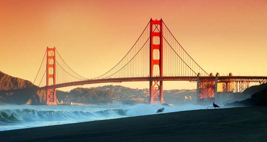「ゴールデンゲートブリッジ」アメリカ, カリフォルニア