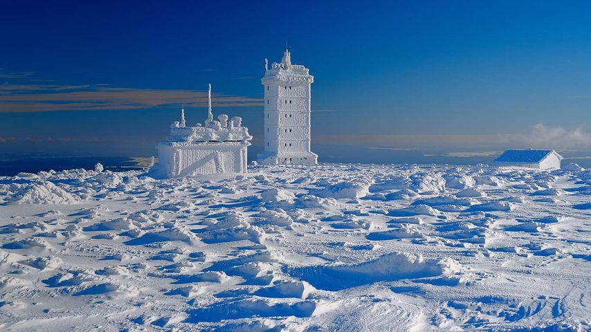 「ブロッケン山の気象台」ドイツ, ザクセン=アンハルト州