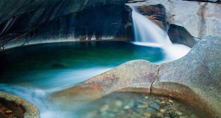 「フランコニア・ノッチ州立公園」アメリカ, ニューハンプシャー州