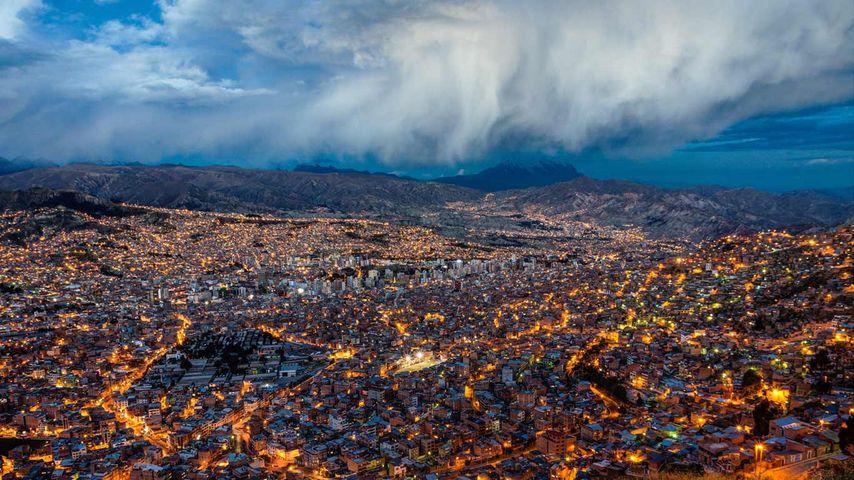「ラパス」ボリビア
