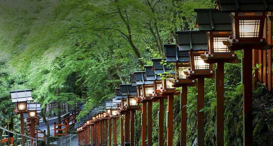 「貴船神社参道」京都, 左京区