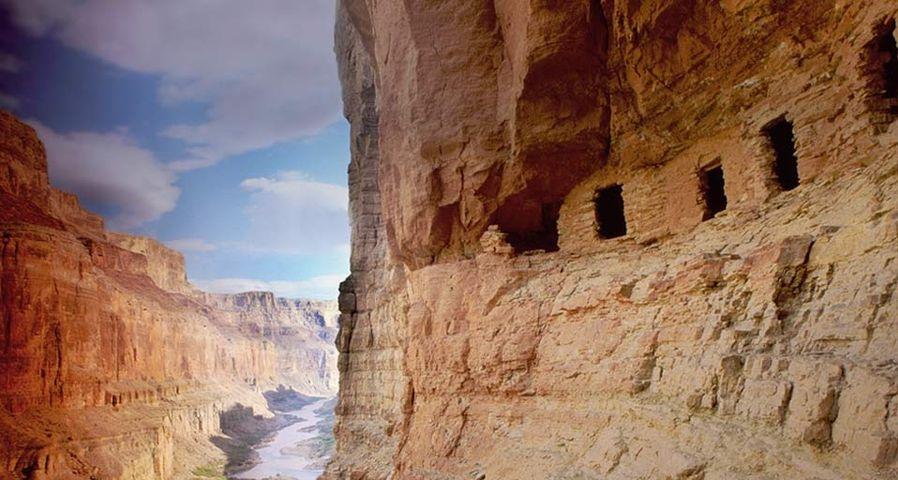 「グランド・キャニオンの遺跡」アメリカ, アリゾナ州
