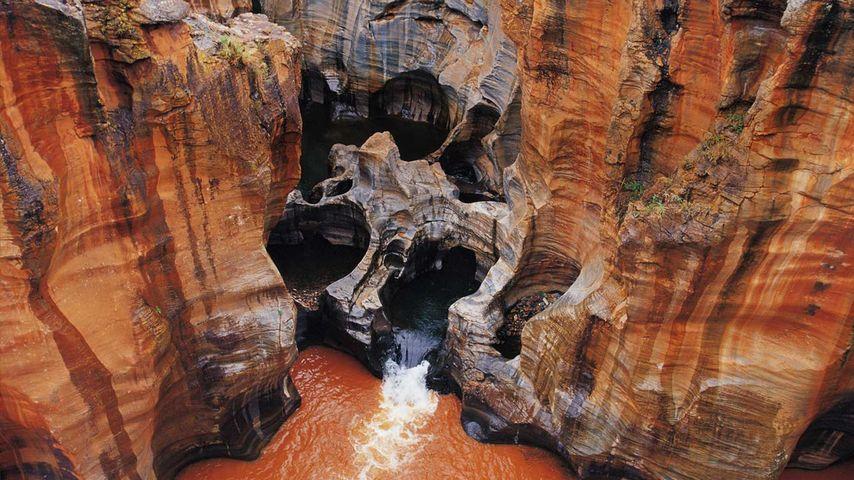 「ブルックス・ラック・ポットホールズ」南アフリカ, ムプマランガ州