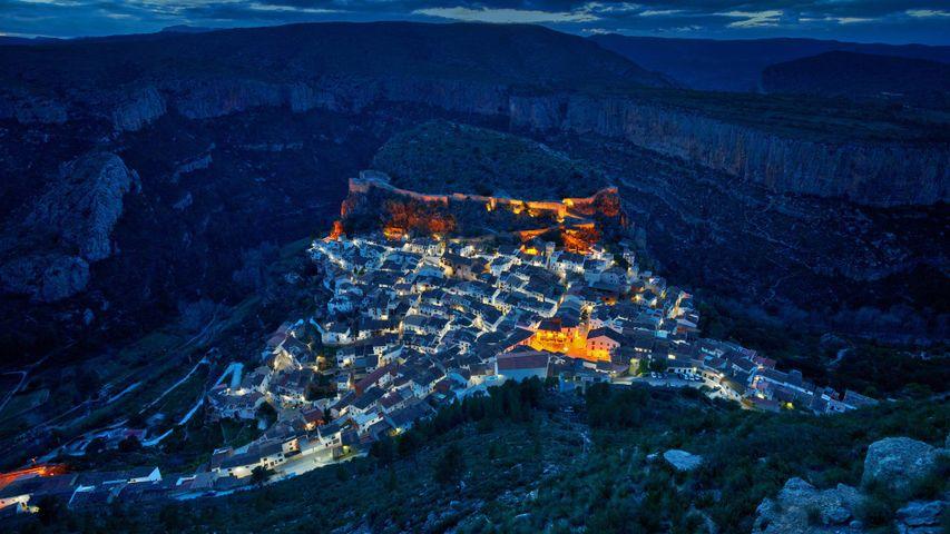 「チュリリャの夜景」スペイン, バレンシア
