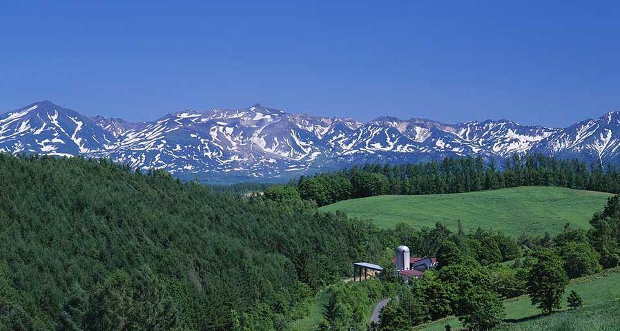 「三愛の丘」北海道, 十勝岳