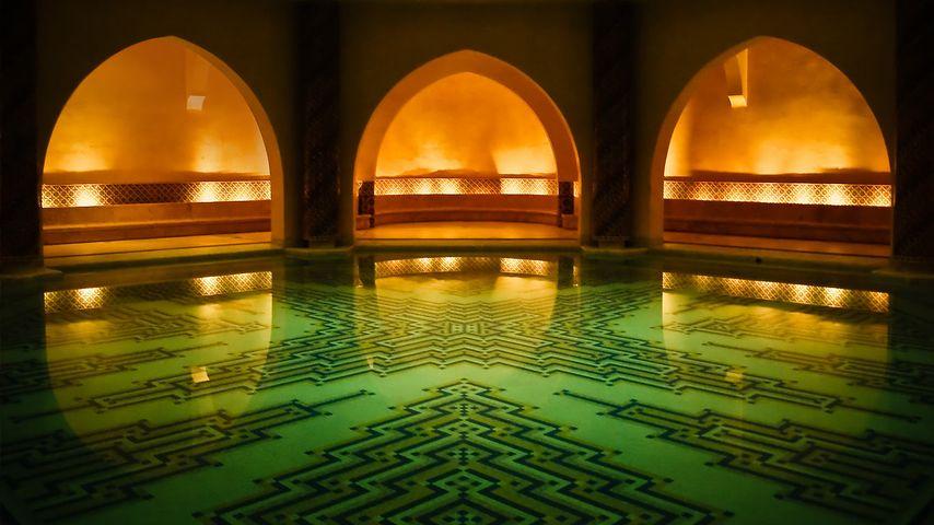 「ハッサン2世モスク」モロッコ, カサブランカ