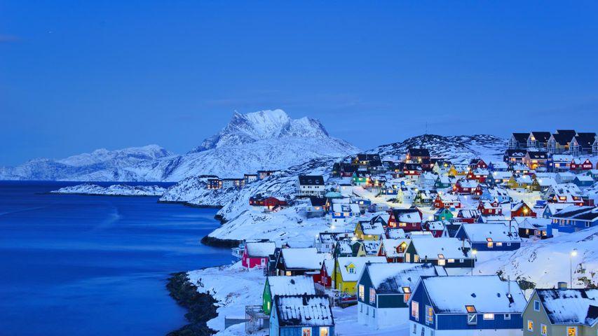 「オールド・ヌーク」デンマーク領グリーンランド