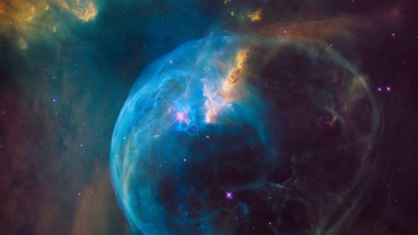 「散光星雲(NGC 7635)」