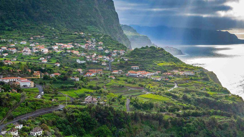 「マデイラ島の北海岸」ポルトガル, マデイラ