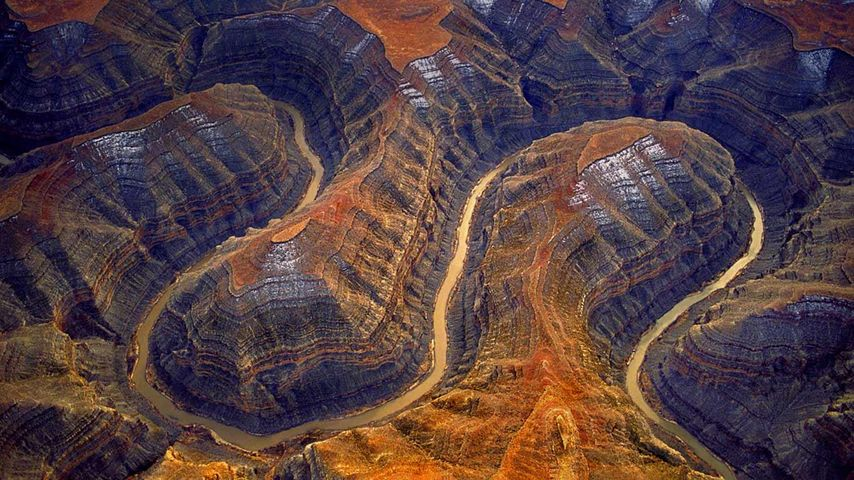 「グースネック州立公園」アメリカ, ユタ州