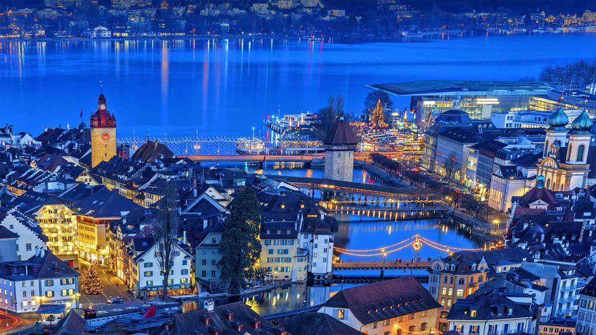 「ルツェルン旧市街」スイス