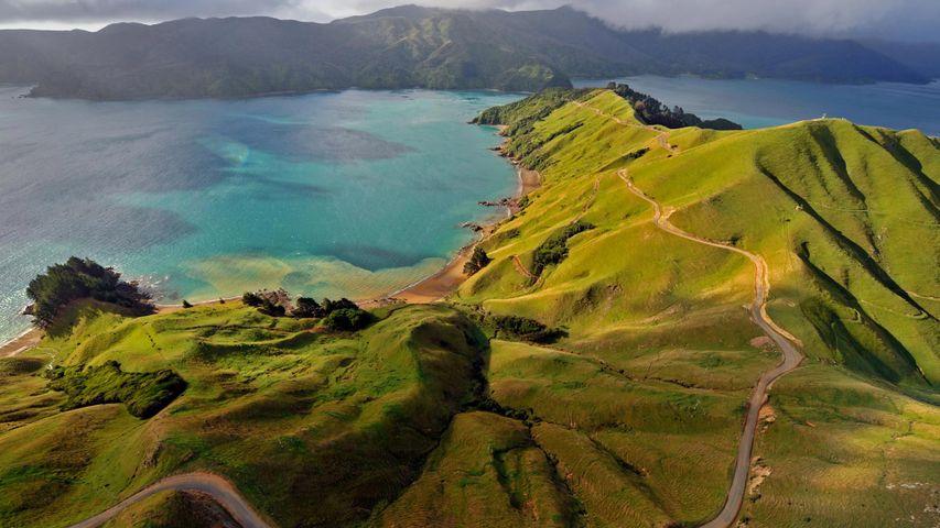 「マールボロ・サウンズ」ニュージーランド