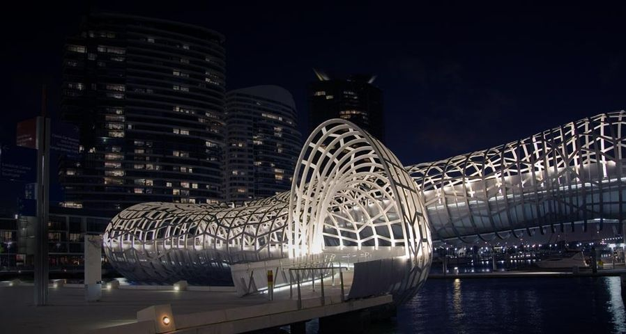 「ウェブ・ブリッジ」オーストラリア, メルボルン