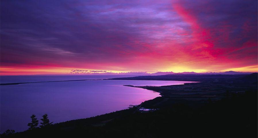 「サロマ湖」北海道