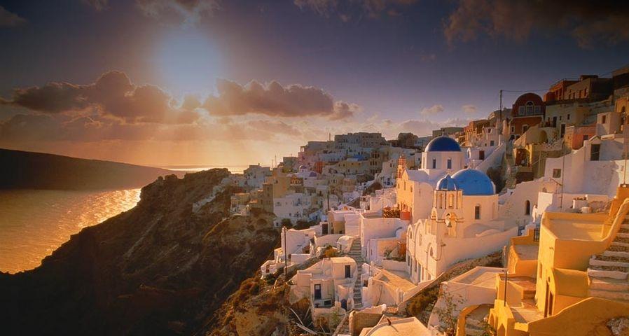 「イア村」ギリシャ, サントリーニ島