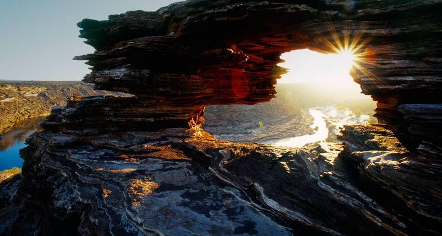 「ネーチャーズ・ウィンドウ」西オーストラリア, カルバリー国立公園
