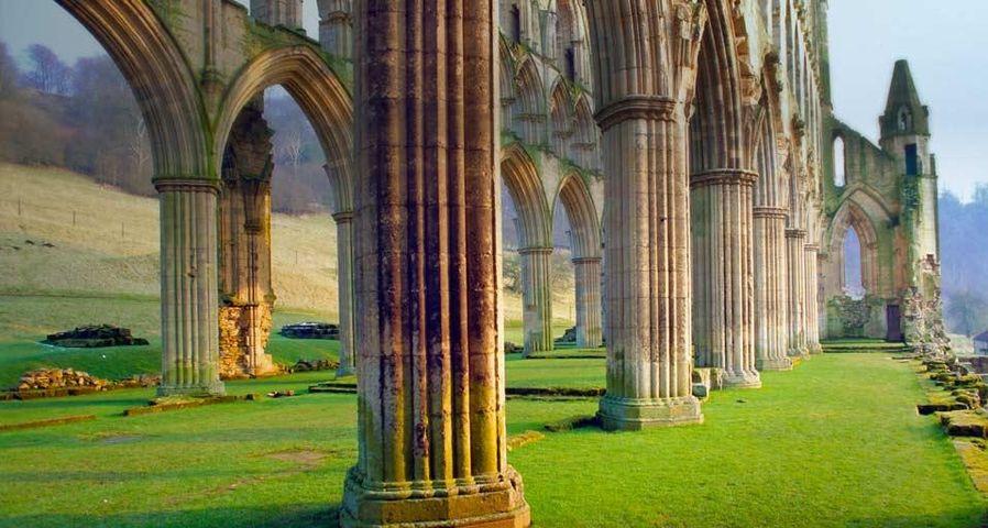 「リヴォー修道院」イギリス, ヨークシャー