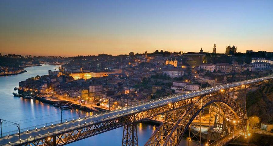 「ドン・ルイス1世橋」ポルトガル, ポルト