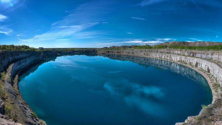 「マルモラの廃鉱跡」カナダ, オンタリオ州