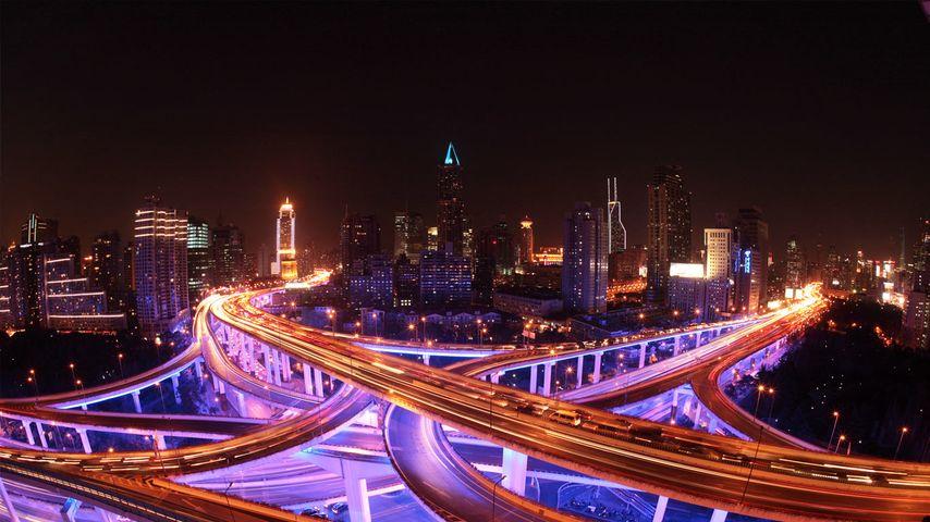「上海の高速道路」中国, 上海